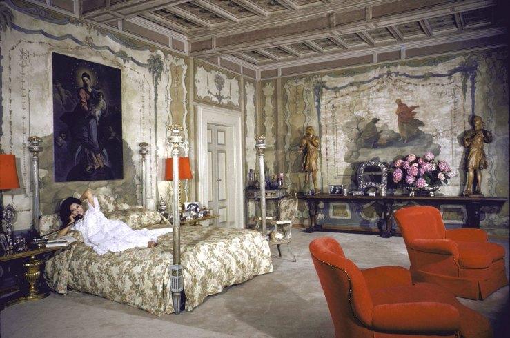 Sherrod Story...in Her Italian Villa