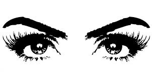 black-and-white-eyes